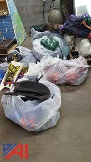 Lot of Assorted Sports Equipment and More