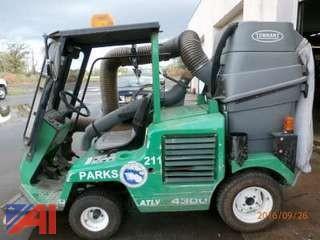 2000 Tennant ATLV 4300 Vacuum Sweeper