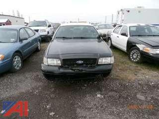 2008 Ford Crown Vicrtoria 4D