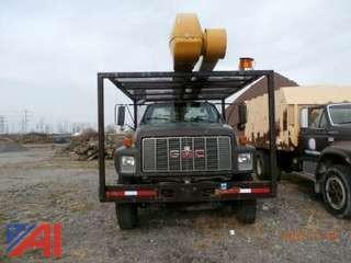 1995 GMC C7H042 Utility Truck