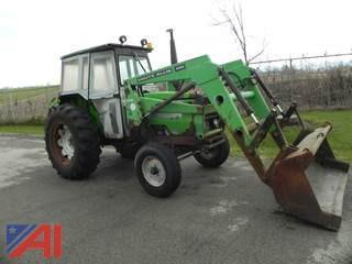 1988 Deutz-Allis 6250 Tractor w/ Loader & Cab