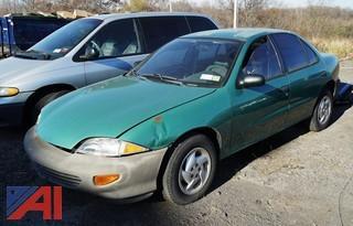 1999 Chevy Cavalier 4 Door Sedan