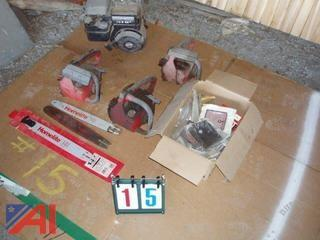Miscellaneous Homelite Chainsaw Parts
