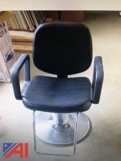 (2) Hydraulic Hair Cutting Chairs