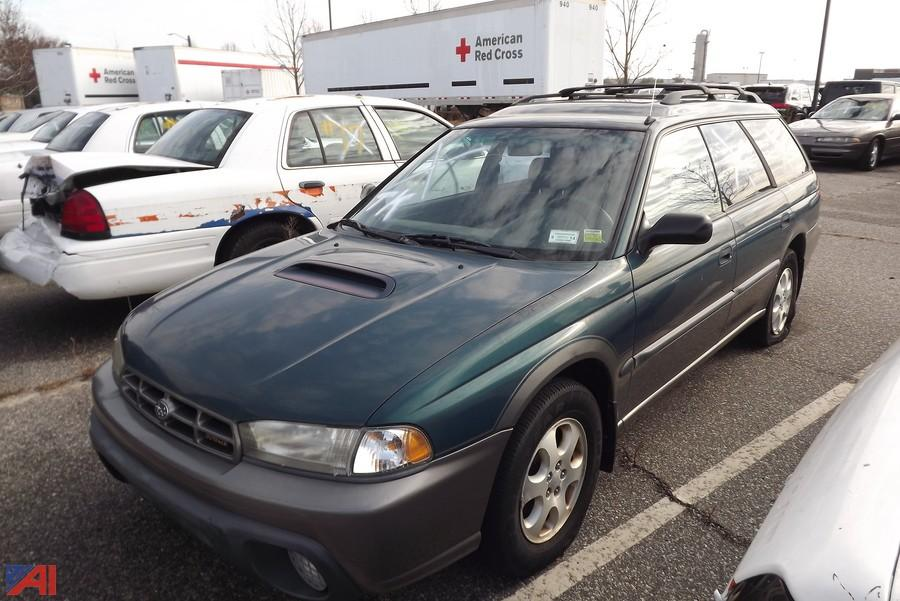 auctions international auction nassau county fleet services 9326 item 1998 subaru outback wagon auctions international