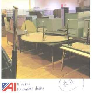Tables, Teacher Desks