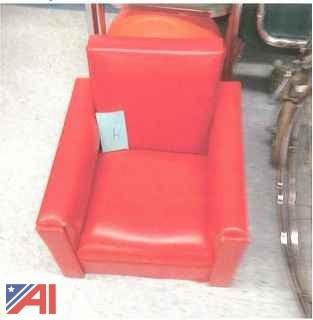 Childs Lounge Chair, Plastic Chairs