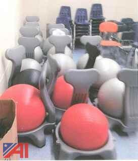 (15) Ball Chairs