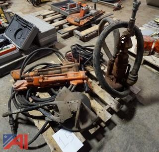 (5) Piece Hydraulic & Air Operated Pump, Saw, Jack Hammers