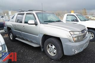 2002 Chevy Avalanche Crew Cab Pickup