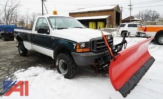 1999 Ford F250 XL SD Pickup Truck & Plow