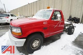 1996 Ford F250 XL Cab & Chassis