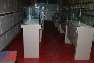 Lot of 10 Jewelry Display Cases