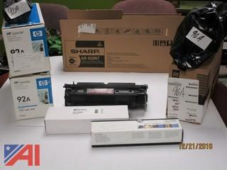 Lot of New Toner for Printers