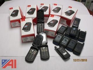 (20) Various Flip Phones