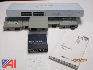 Lot of Various Ethernet Switches