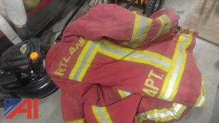 (2) Red Fire Coats