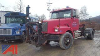 1999 Volvo WGM Cab and Chassis With Trailer