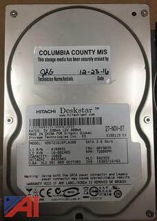 Lot of (34) Hitachi Deskstar 160GB Hard Drives SATA