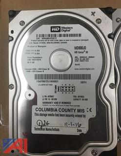 Lot of (30) Western Digital 80GB Hard Drives SATA