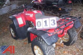 1997 Honda Four Trax 300 Quad