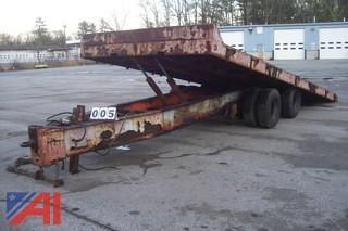 1987 Interstate TDT 20 20 Ton Tilt Deck E#4238