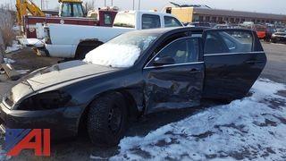 **4% BP** 2015 Chevrolet Impala Limited Police Vehicle 4DSD