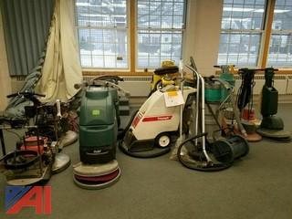 Lot of (12) floor machines