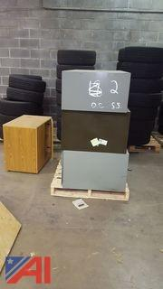 Lot of Filing Cabinets and Cupboard