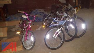 (4) Assorted Bicycles