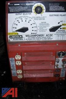 Lincoln Gas Welder Generator on Trailer