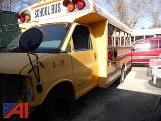 2002 GMC Corbeil School Bus