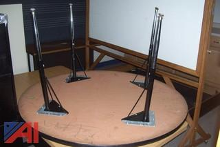 Lot of Round Tables