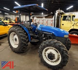 2002 New Holland TN70 Tractor