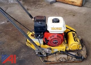 Stow VPC-90E Walk Behing Vibrating Plate Compactor Tamper