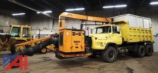 1978 Ford 9000 Dump Truck with 2002 Tarco Leaf Vac