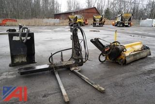US Mower Hydraulic Tractor Mount 7' Flail Mower Attachment