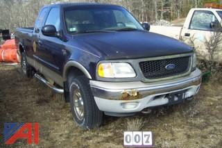 2000 Ford F150 4x4 Extended Cab Pick Up