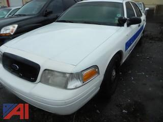 2006 Ford Crown Victoria 4DSD/Police Interceptor
