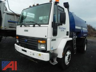 1997 Ford CF8000 Johnston 605 Series Sweeper