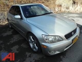 2002 Lexus IS 300 4DSD