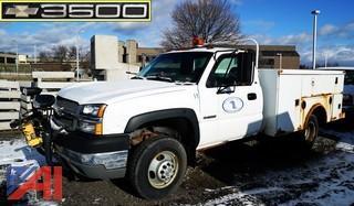 2003 Chevy 3500 Silverado Utility Truck