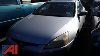 2003 Honda Accord 2 Door