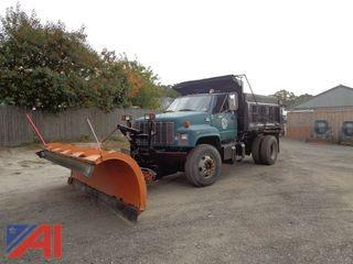 1999 Chevrolet Dump with Sander and Plow