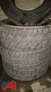 (4) Wild Country Tires