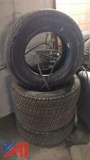 (4) Michelin Tires
