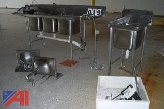 Stainless Steel Sinks and More