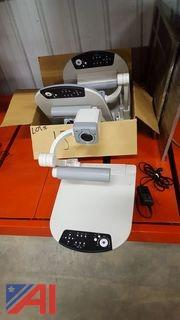 (3) Elmo Document Cameras