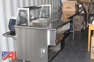 Stainless Steel Serving Line