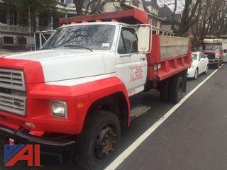 **Reserve Lowered** 1990 Ford F600 Dump